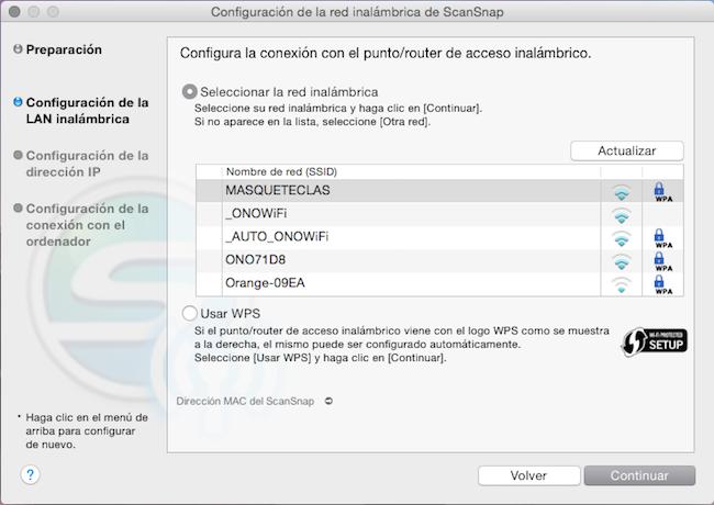 Herramienta de configuración WiFi