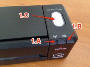 Imagen 1. LEDs y escaneado