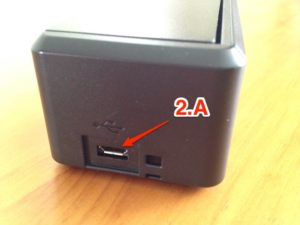Imagen 2. Conexión USB