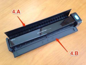Imagen 4. Tapas para escaneado