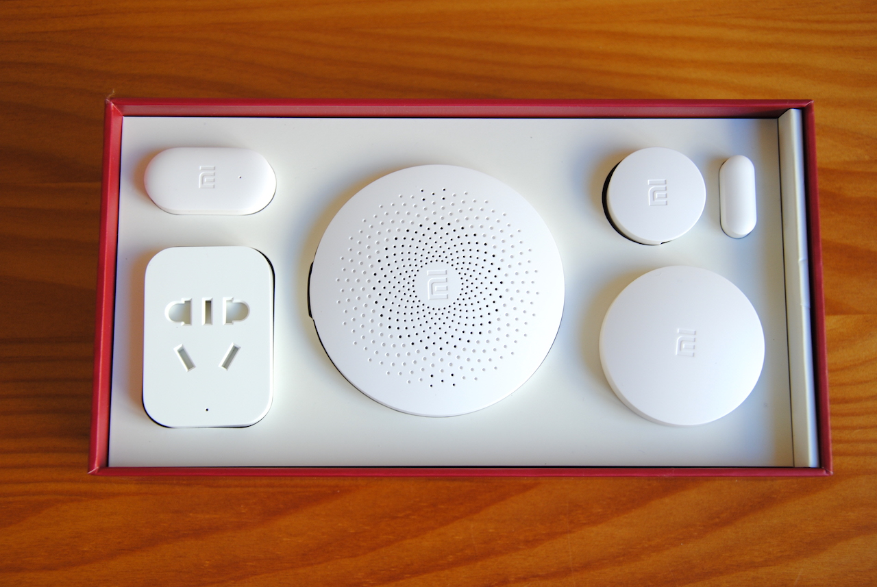 sistema domótico Xiaomi Smart Security Kit