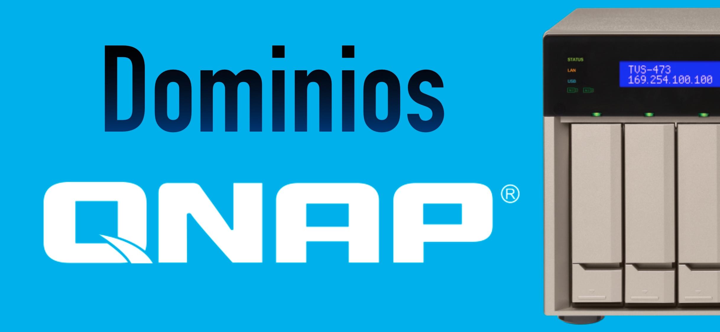 QNAP dominios